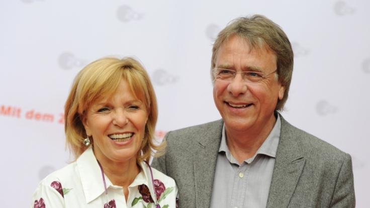 Ulrike Kriener und ihr Mann Georg Weber am 03. Juli 2012 in München beim ZDF-Empfang im Restaurant H'ugo's. (Foto)