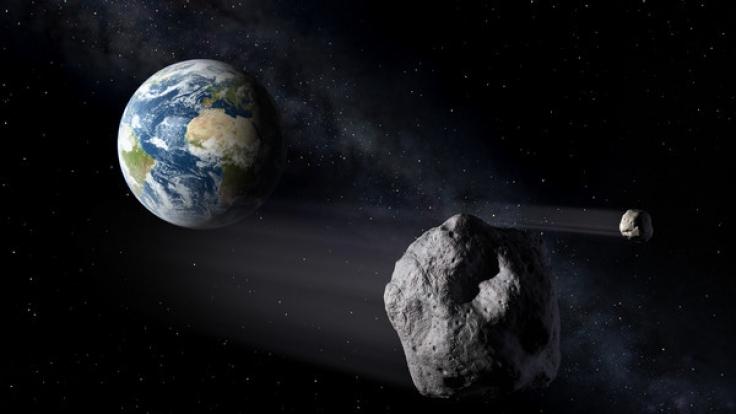 Astronomen sollen zum ersten Mal ein interstellares Objekt in unserem Sonnensystem nachgewiesen haben. (Foto)