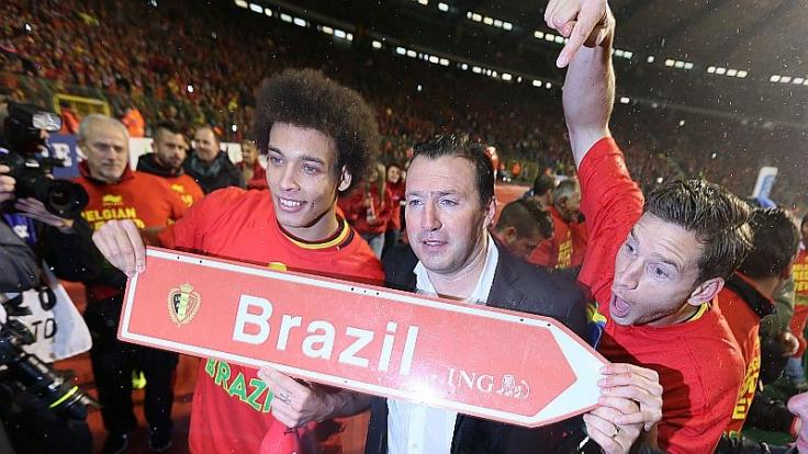 Wohin führt die Reise des belgischen Nationaltrainers Marc Wilmots und seines Teams in Brasilien?