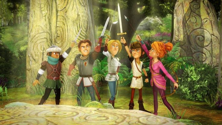 Arthur und die Freunde der Tafelrunde bei KiKA (Foto)