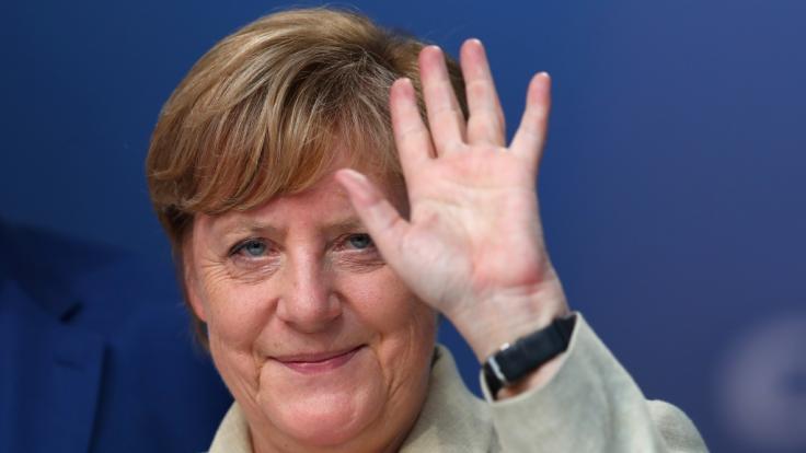 Merkel verteidigt ihre Vorherrschaft. (Foto)