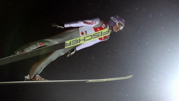 Andreas Wellinger will bei der WM nach einer Medaille greifen.