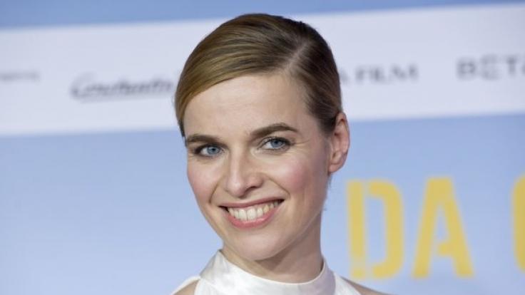 """Schauspielerin Thekla Reuten bei der Premiere von """"Da geht noch was"""". (Foto)"""