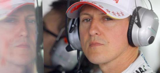 Michael Schumacher am Pranger