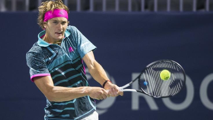 Alexander Zverev startet nach der ATP-Tour in Toronto, Kanada, ab 11. August 2018 bei den ATP Masters in Cincinnati.