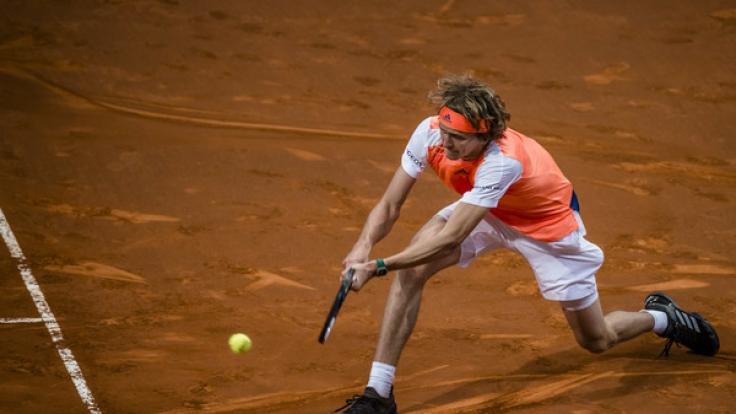 Alexander Zverev will auch im Viertelfinale als Sieger vom Platz gehen. (Foto)
