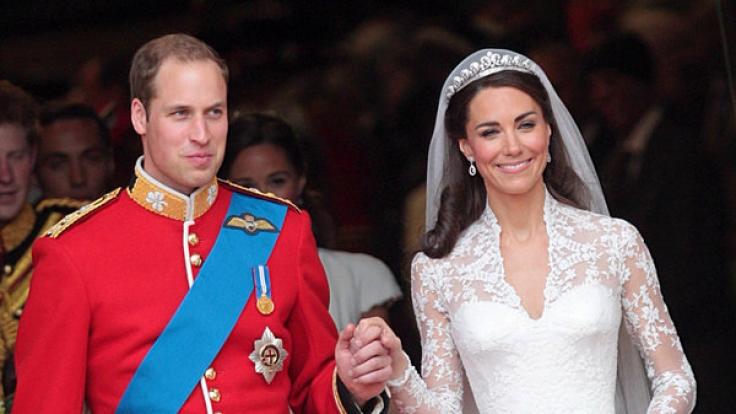 Am 29. April 2011 läuteten für Prinz William und seine Verlobte Kate Middleton die Hochzeitsglocken. (Foto)