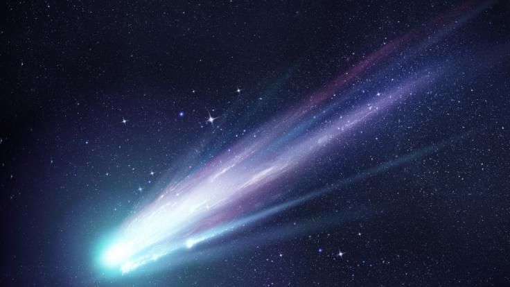 In Süddeutschland wurde eine besonders helle Sternschnuppe gesichtet. (Foto)