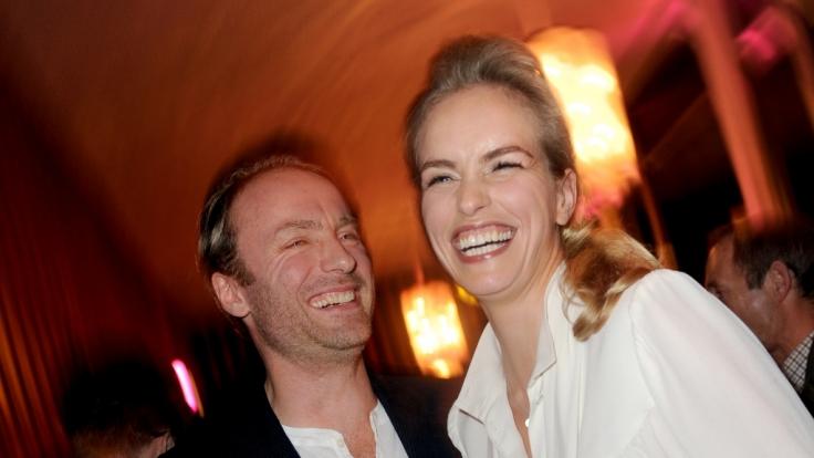 """Mark Waschke und Nina Hoss bei der Premiere des Films """"Fenster zum Sommer"""". (Foto)"""