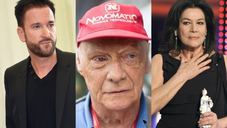 Michael Wendler, Niki Lauda und Hannelore Elsner sind nur drei der Stars, die in der vergangenen Woche für bestürzende Nachrichten sorgten.
