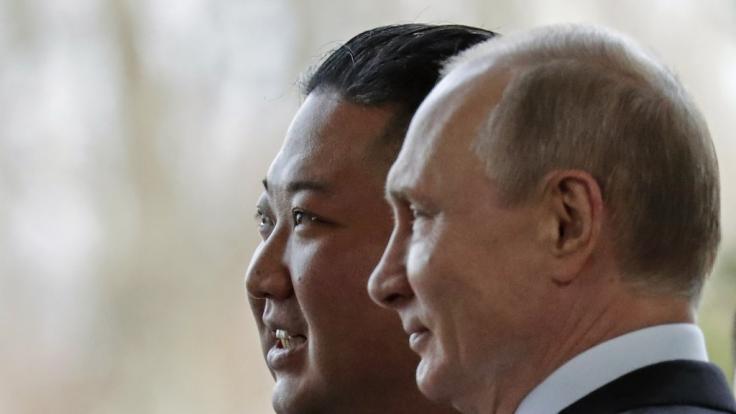 Wollten Spione von Kim Jong-un und Wladimir Putin Corona-Impfstoff-Daten stehlen? (Foto)