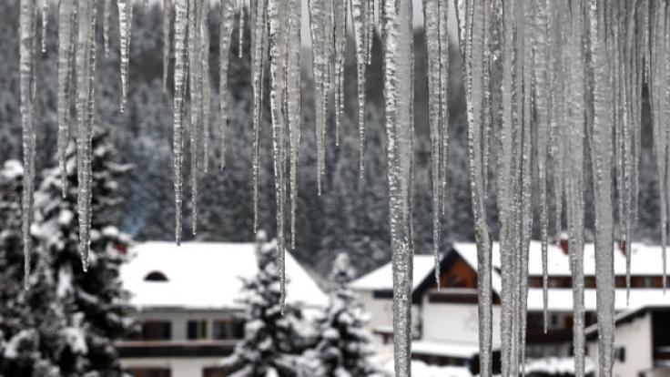 Hoch Brigitta sorgt für knackige Kälte in Deutschland. (Foto)