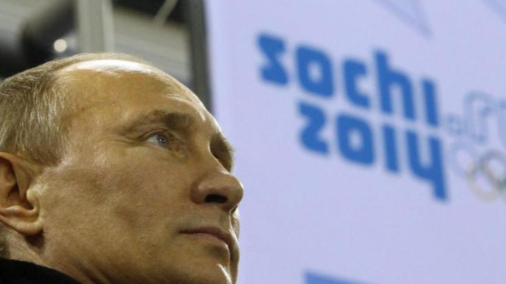 Die Winterspiele in Sotschi sind ein Prestigeprojekt von Russlands Präsident Putin.
