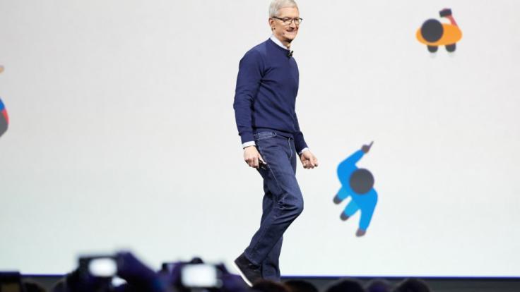 Was wird Apple-Chef Tim Cook bei der Entwicklerkonferenz zeigen?