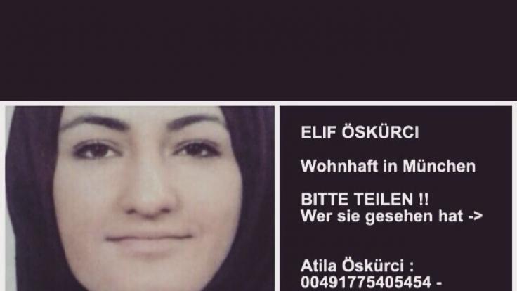 Elif Ö. (16) hat in Syrien einen ISIS-Kämpfer geheiratet.