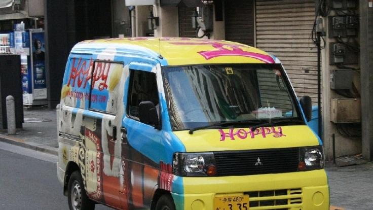 Ein Exot für deutsches Empfinden. Kei-Cars sind klein, quietschbunt und voll auf den japanischen Stadtverkehr ausgelegt. (Foto)