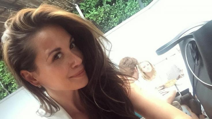 Beglückt ihre Fans gern mit sexy Schnappschüssen: Sängerin Mandy Grace Capristo. (Foto)