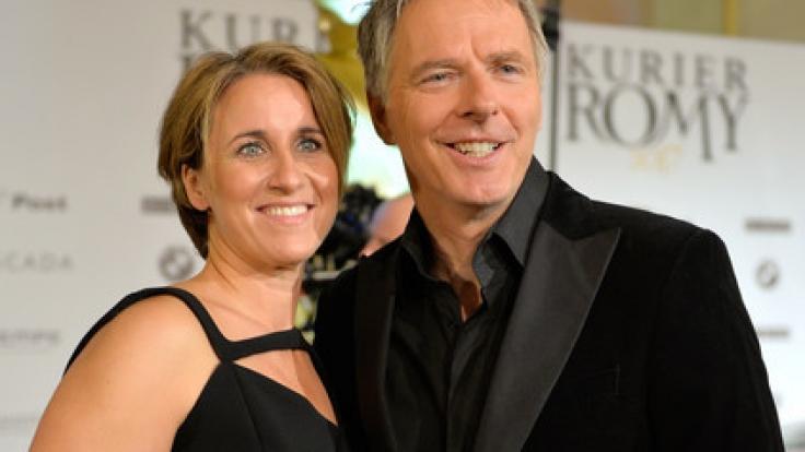 Jörg Pilawa mit seiner Frau Irina. (Foto)
