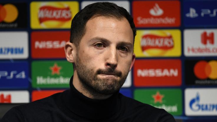 Domenico Tedesco war seit 2017 Trainer von Schalke 04. (Foto)