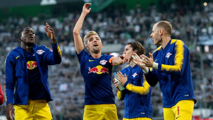 RB Leipzig muss gegen den Hamburger SV ran. (Foto)