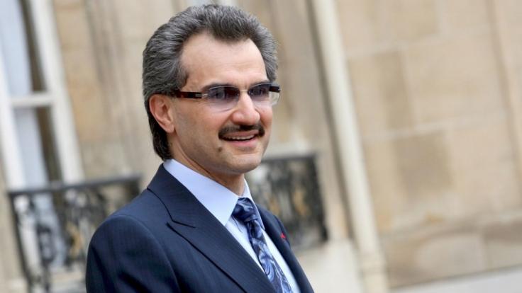 Prinz al-Walid ibn Talal Al Saud: Reicher geht immer.
