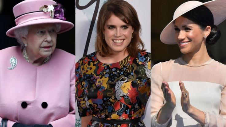 Die Royals-News warteten in der vergangenen Woche mit Schlagzeilen zu Queen Elizabeth II., Prinzessin Eugenie von York und Meghan Markle auf.