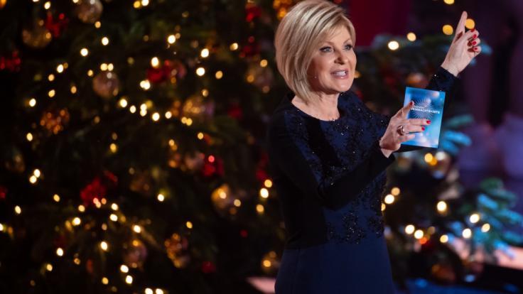 Carmen Nebel hat zu Weihnachten 2020 gleich mehrere Termine im ZDF.