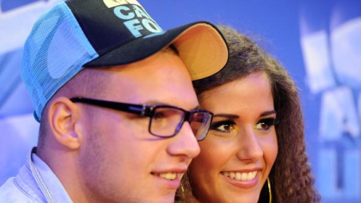 Ein Bild aus glücklichen Tagen: Sarah und Pietro Lombardi. (Foto)