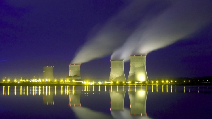 Atomkraftwerk Cattenom in Frankreich.