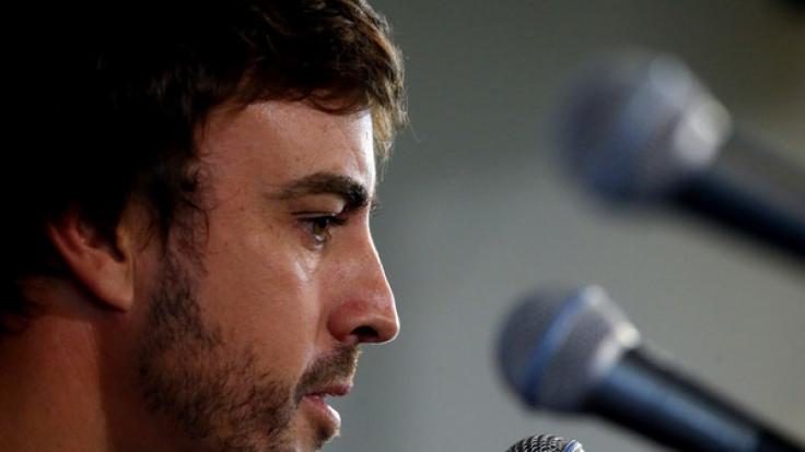 Fernando Alonso zeigt sich betroffen vom Tod des Jungen. (Foto)