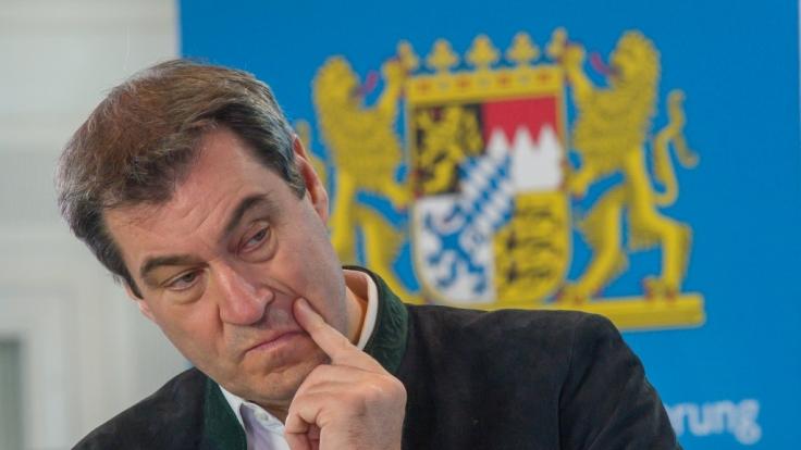 CSU-Chef Markus Söder hat mit seinem Auftreten in der Coronakrise Sympathiepunkte bei den Wählern eingefahren.