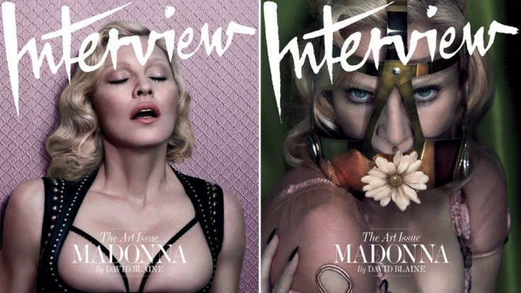 Freizügig und lasziv: So zeigt sich Madonna auch im Alter von 56 Jahren noch gern. (Foto)