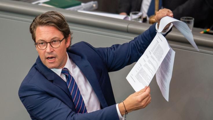 Andreas Scheuer (CSU), Bundesverkehrsminister, plant einige Änderungen in der StVO. (Foto)