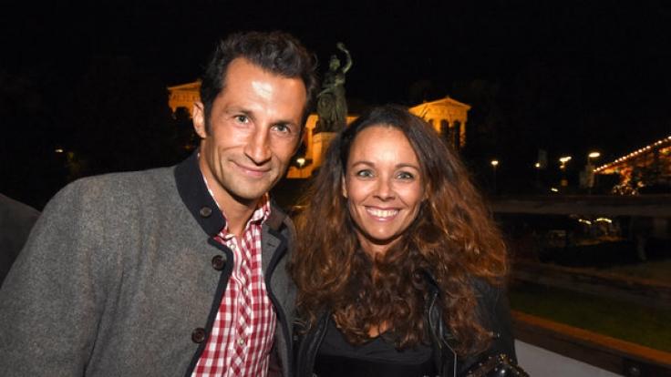 Hasan Salihamidzic mit Frau Esther Copado im Jahr 2014.