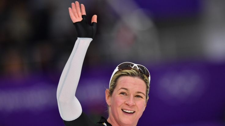 Als Eisschnellläuferin hat Claudia Pechstein Sportgeschichte geschrieben. (Foto)