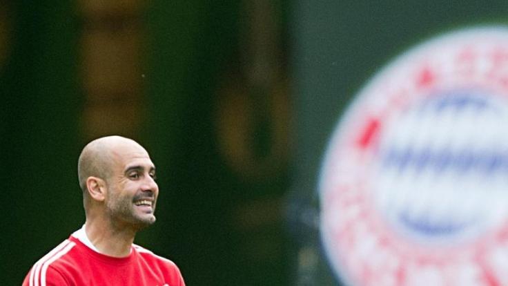 Pep Guardialo ist seit zwei Jahren beim FC Bayern München. Wie lange er da noch bleibt, ist ungewiss. (Foto)