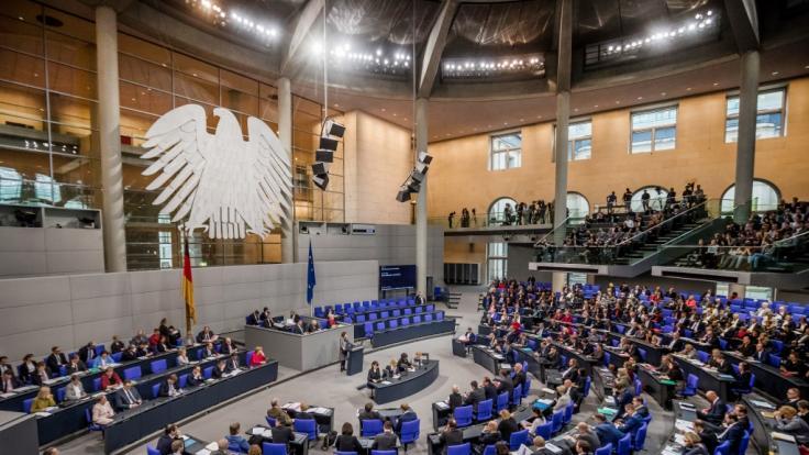 Bundestagsabgeordnete brauchen keine Angst vor Altersarmut haben. (Foto)
