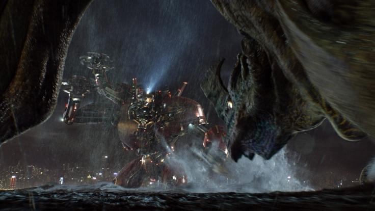 "Roboter gegen Monster: In ""Pacific Rim"" muss sich die Menschheit gegen riesige Aliens aus dem Meer verteidigen. (Foto)"