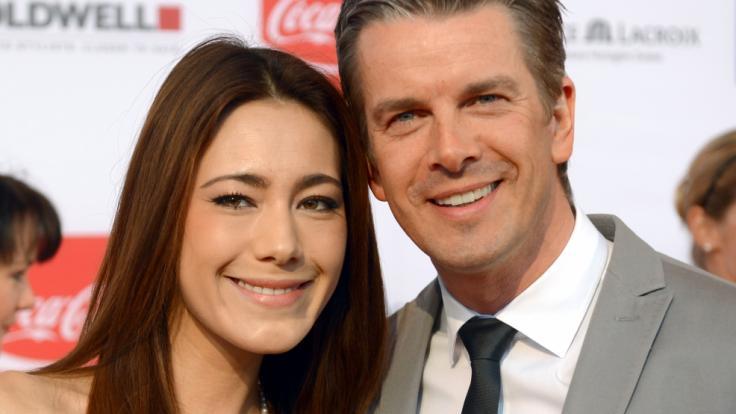 Markus Lanz und seine Ehefrau Angela. (Foto)
