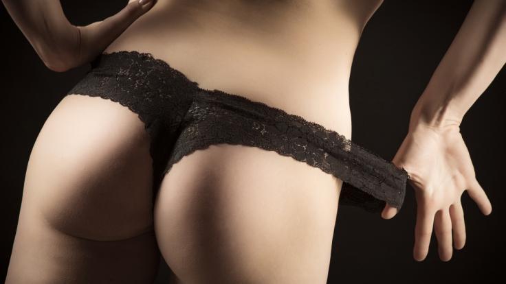 Anne Wünsche ließ im Netz beinahe alle Hüllen fallen. (Foto)