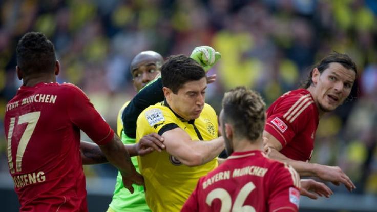 Beim Supercup 2017 treffen FC Bayern München und der BVB aufeinander. (Foto)
