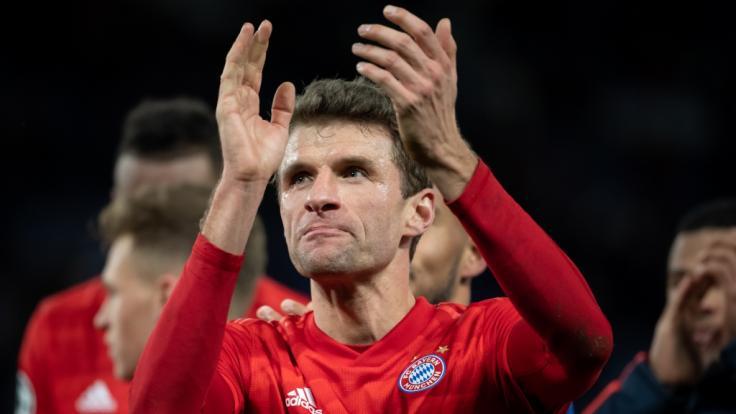 Thomas Müller hat seinen Vertrag beim FC Bayern München verlängert. (Foto)