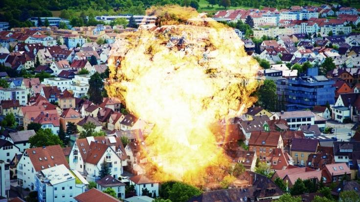 Ein Atombomben-Angriff hätte verheerende Folgen.
