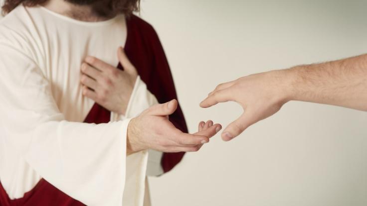 In Jerusalem kann man sich schon mal für Jesus Christus halten.