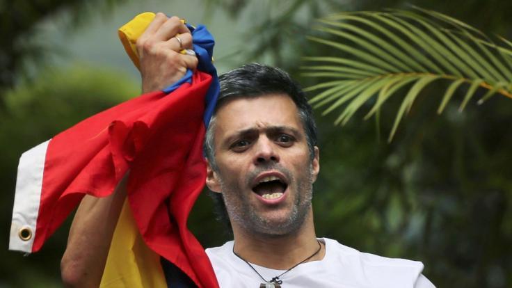 Oppositionsführer Leopoldo López (Foto)