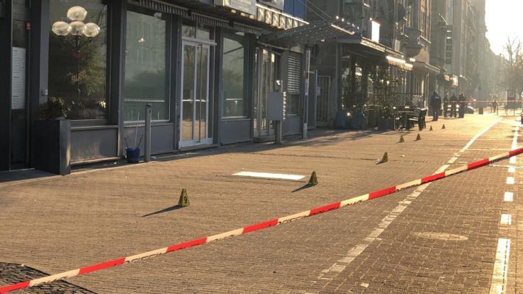 In Nürnberg wurde eine Frau von einem Messerstecher attackiert.