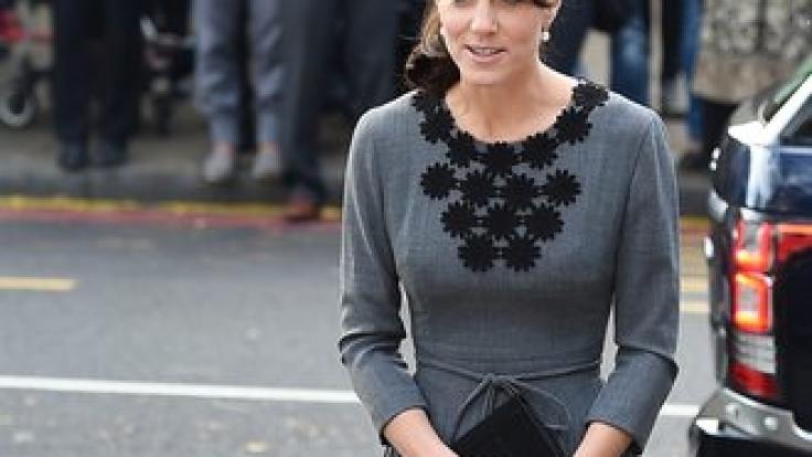 Kate Middleton soll von ihrem Gewicht besessen sein. (Foto)
