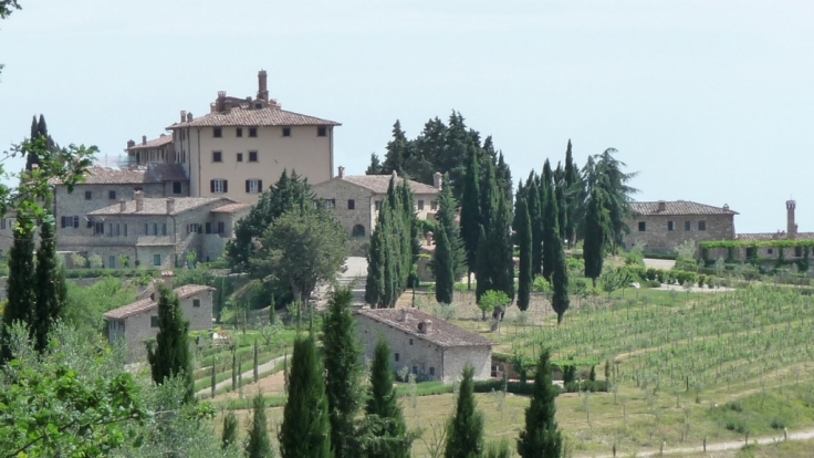 Die Landschaften des Chianti sind der Inbegriff der Toskana.