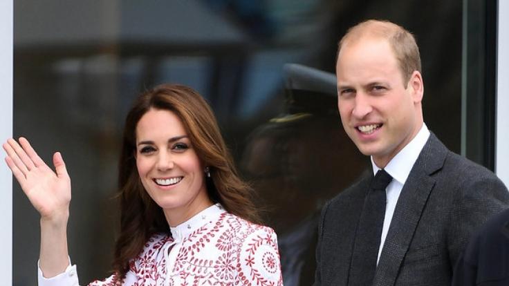 Prinz William und Herzogin Kate kommen nach Deutschland.