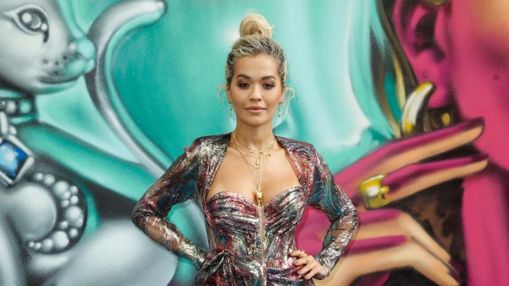 Rita Ora zu Gast bei der Berliner Modewoche im Jahr 2019.
